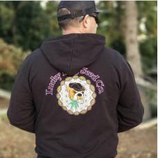 Skunk Va's Luckydogseeds logo Hoodie